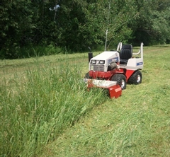 Lawn mowing and outdoor work services